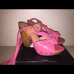 Miss Sixty Sandals MS-ZAYIT berry/cuoio